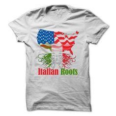 Italian Roots T Shirts, Hoodies. Get it now ==► https://www.sunfrog.com/Funny/Italian-Roots-.html?57074 $24.95