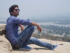 at haridwar mountains...