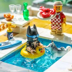 "160 Likes, 4 Comments - Brick Explorer (@brickexplorer) on Instagram: ""BatSplash .. #lego #husky #legobatmanmovie #lego_hub #brickcentral"""