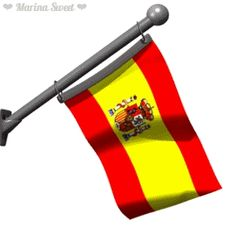 Bandera animada de España