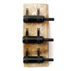 Wine Rack with reclaimed wood and recycled by BlisscraftandBrazen, $75.00