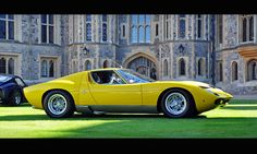 Stephen Hoyle's 1972 Lamborghini Miura SV - 2012 Windsor Concours of Elegance | Flickr - Photo Sharing!