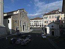 Il Duomo e il Battistero di Belluno Dolomiti Veneto Italia