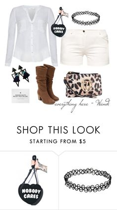 """""""Street Girl"""" by sunflower-hainguyen on Polyvore featuring Therapy, Kill Star, River Island, women's clothing, women, female, woman, misses and juniors"""