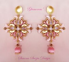 Perline e Bijoux: GLAMOROUS earrings small