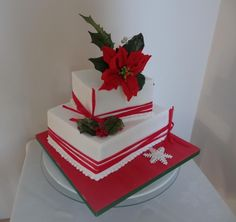 Christmas Cake - Cake by Fifi's Cakes