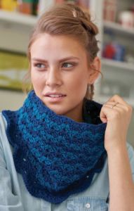 Continuous #Crochet Cowl free pattern