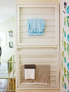 I think this would be incredibly handy to have in the laundry room!