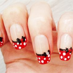 If I were to get gel nails again I'd want this for Disneyland!