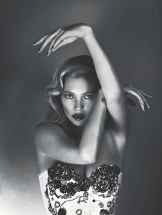 Kate Moss by Mert and Marcus for Vogue UK.
