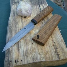 Hand forged paring knife.