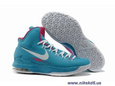318c7c7cce6f Authentic Nike Zoom KD V 5 Jade Pink White Basketball Shoes For Wholesale