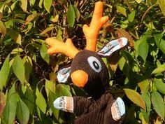 Voici ce que je viens d'ajouter dans ma boutique #etsy: Marionnette à gaine Cerf - MODELE UNIQUE http://etsy.me/2je9nQ6