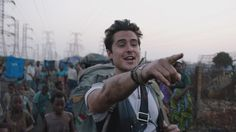 Ben Schnetzer as Dan Eldon in the upcoming film 'The Journey is the Destination'