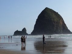 Cannon Beach, OR  Haystack Rock 2012