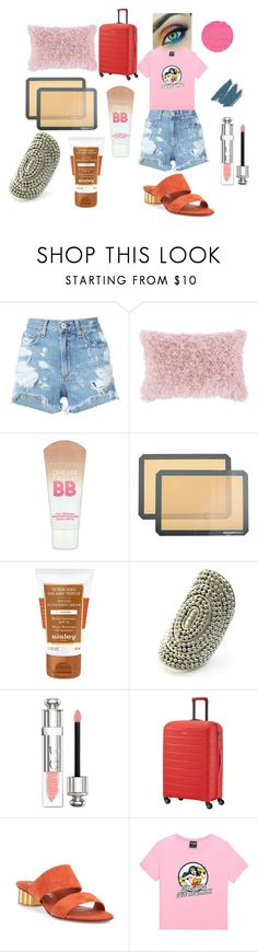 """""""How"""" by efrat-kazoum ❤ liked on Polyvore featuring rag & bone/JEAN, JAG Zoeppritz, Maybelline, Sisley, Christian Dior, Salvatore Ferragamo, Minga, Givenchy and Brush Strokes"""