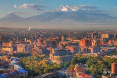 Armenia I can't forget this country and specially its capital, Erevan, where I spent a wonderful, wonderful time, long, long time ago in 70 decade.