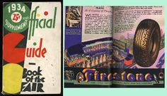 1933 Guidebook with 1934 Supplement