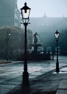 #Gdańsk, #Fontanna Neptuna na Długim Targu, #Poland