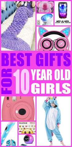 10 year old girl gift ideas! Find fun gifts and baby items for ten year old girls. This is the ultimate 10 yr old girl gift guide that moms and parents will love. You can always DIY your gifts and toys but shopping for ten yr old girl products is so cool. Get awesome birthday gifts or Christmas gifts for the 10 year old girl in your life.