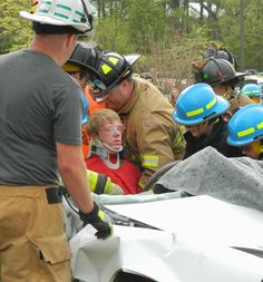 """Mock crash at Leonardtown High School last week during Alcohol Awareness Day. Can You Afford It? is committed to creating awareness about the dangers of underage and/or binge drinking. Please """"Like"""" the Can You Afford It? Facebook Page. Follow CanYouAffordIt on Twitter!"""