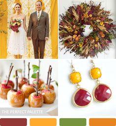 5 Fabulous Fall Color Palettes!
