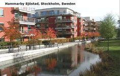 Sustainable water neighbourhood Hammerby Sjösted, Stockholm