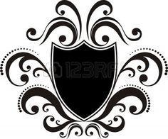 Crest With Classic Design Elements, Use For Logo, Frame Royalty ...