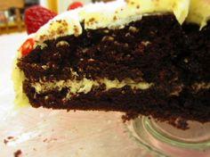 Fudgy Chocolate Cake with Vanilla Bean Buttercream Icing | Tasty Kitchen: A Happy Recipe Community!