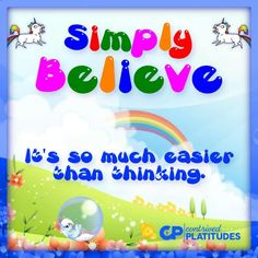 Just Believe, Have Faith, When You Can, Daily Affirmations, Mario, Religion, Challenges, Fictional Characters, American