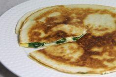 Recette - Quesadillas au fromage et aux épinards | 750g