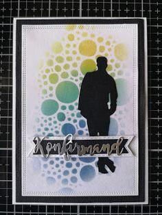 Greeting Cards Handmade, December, Men's Cards, Blog, Diy, Tutorials, Inspiration, Masculine Cards, Men