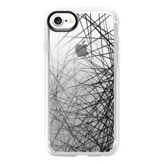 Spider Web - iPhone 7 Case And Cover ($40) ❤ liked on Polyvore featuring accessories, tech accessories, phone cases, electronics, iphone case, iphone cases, apple iphone case, clear iphone case and iphone cover case