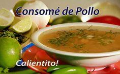 Consome de pollo @ La Flauteria de Cancún