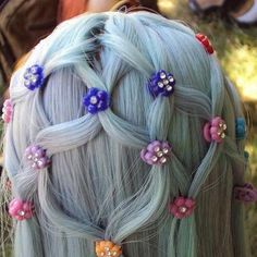 I would love to do this to my hair