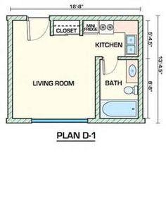 Studio Apartment Floor Plans   Bing Images