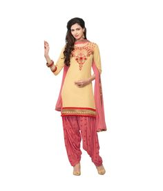 #Punjabi #Patiala #Salwar Kameez Bollywood #Designer Indian Embroidery #Patiala suit