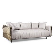 Imperfectio Sofa is the expression of imperfect aesthetic, the appeal of that which is authentic art that is truer to life.