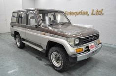 Japanese vehicles to the world: 1992 Toyota Landcruiser Prado 4WD to Tanznaia Dar ...