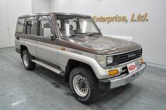 Japanese vehicles to the world: 1992 Toyota Landcruiser Prado 4WD to Tanznaia Dar ...