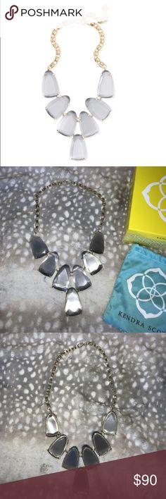 Kendra Scott Harlow Statement Necklace in Slate Kendra Scott Harlow Statement Necklace in Slate Kendra Scott Jewelry Necklaces