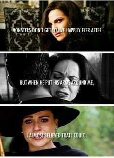 OUAT - I understand future storyline reasons why this happened but it still makes me mad. Regina has come so far. Not fair!