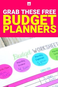 While hoping to increase my savings I figured I needed a budget plan. These free budget planners helped get my savings in order. Make More Money, Ways To Save Money, Money Saving Tips, Money Hacks, Money Tips, Extra Money, Financial Guru, Financial Peace, Budgeting Finances