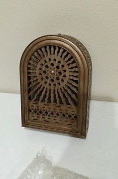 Marvelous Door Bell Chime COVER Antique Finish Art Deco Style Nice