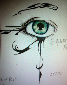 Eye of Ra/Horus. Gunna stick it on my elbow