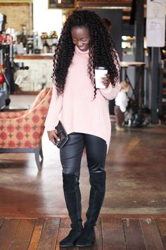 OTK boots | over the knee boots are a great addition to your winter fashion style | Check out my style tips on how to wear them and where to find the best deals for them! | goodtomicha.com