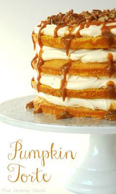 The Gunny Sack: Pumpkin Torte