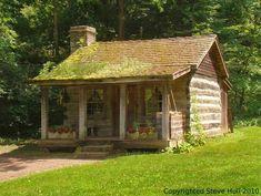 Garden house in Spring Mill Pioneer Village