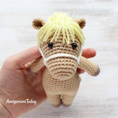 Free Cuddle Me Pony pattern