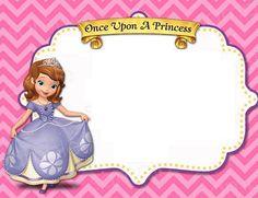 invitaciones princesita sofia - Buscar con Google
